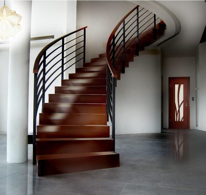 Piękne i oryginalne schody drewniane