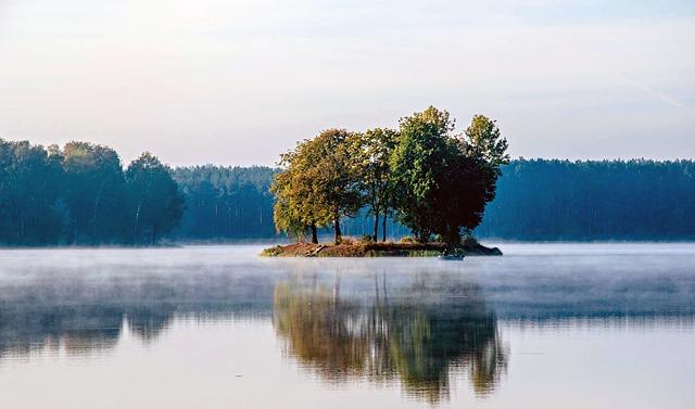 Wypoczynek nad jeziorem dobry dla zdrowia