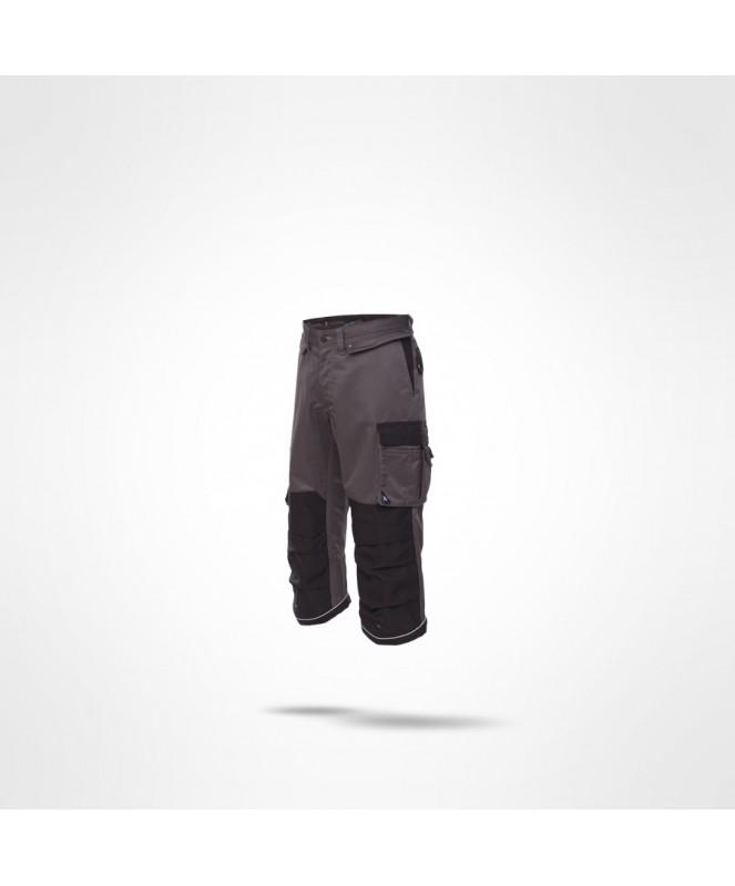 Spodnie robocze 3/4 – wygodne i bezpieczne spodnie BHP
